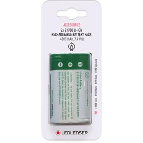 Ledlenser 21700 Li-ion Genopladelig batteripakke 2x